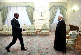 دکتر روحانی دردیدار وزیر خارجه ساحل عاج