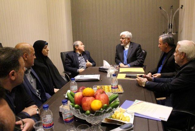 بررسی مهمترین نیازهای اسلامشهر در دفتر مجمع نمایندگان تهران
