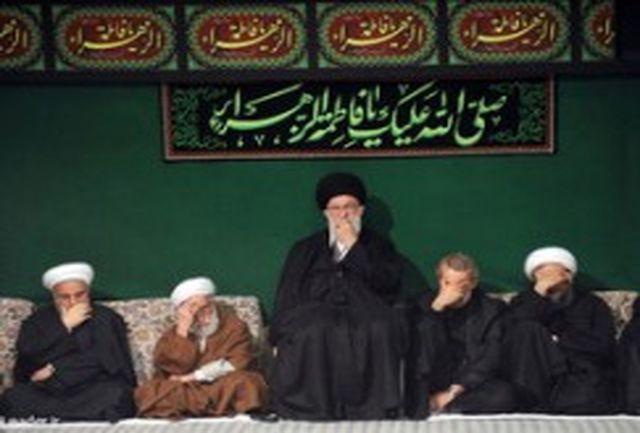 مراسم شام غریبان شهادت حضرت صدیقه کبری(س) برگزار شد