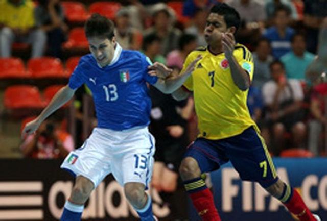 ایتالیا با شکست کلمبیا در رده سوم ایستاد