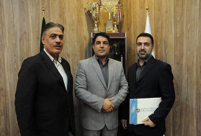 پورحسینی، رئیس کمیته فرهنگی فدراسیون کاراته شد
