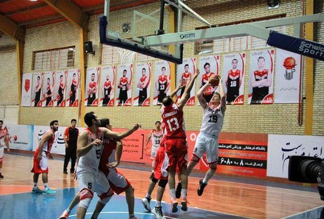مشهد با 2 نماینده در لیگ برتر بسکتبال