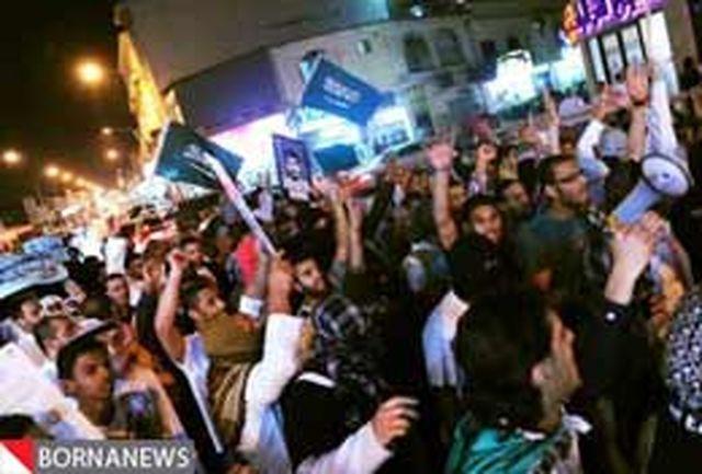 درخواست مردم عربستان برای خروج نظامیان از بحرین