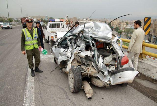 3 کشته و 5 مجروح در دو حادثه رانندگی