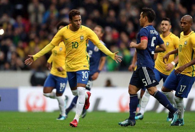 ژاپن با سه گل از برزیل شکست خورد/ کره در خانه کلمبیا را برد