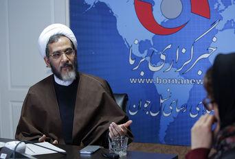 حضور حجت الاسلام احمد مازنی در خبرگزاری برنا