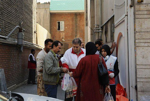 جمعآوری کمکهای مردم مشهد به زلزلهزدگان غرب کشور