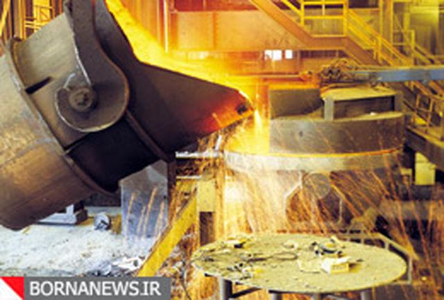 تولید فولاد خام شرکت های خصوصی 53 درصد افزایش یافت