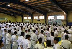 برگزاری همایش سبکهای آزاد کاراته استان اصفهان