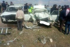 یک نفر کشته و 10مجروح در تصادف محور ارجستان - سرعین