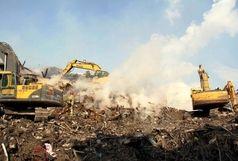 210 واحد پلاسکو تحت بیمه آتش سوزی بودهاند