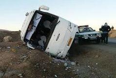 19 کشته و زخمی در تصادف اتوبوس و کامیون
