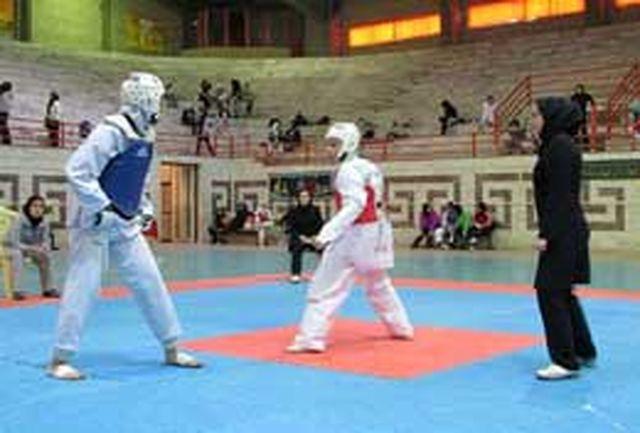 برگزاری رقابتهای تکواندو بانوان دانشگاه های پیام نور در البرز