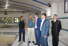 سرپرست اداره کل ورزش وجوانان از اماکن ورزشی شهرستان محلات بازدید کردند