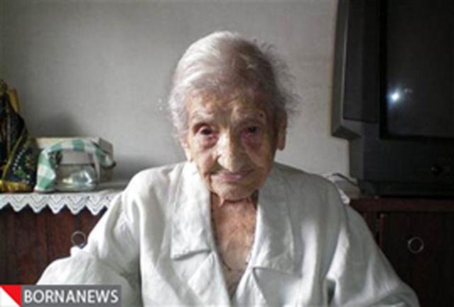 رکورد پیرترین فرد جهان در گینس تغییر کرد