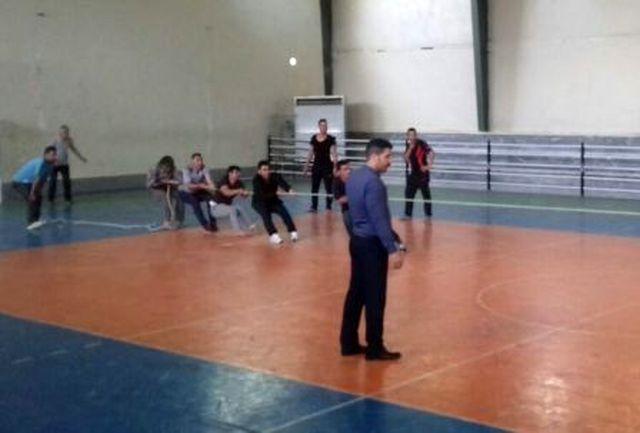 مسابقات دارت و طناب کشی در شهرستان ملارد