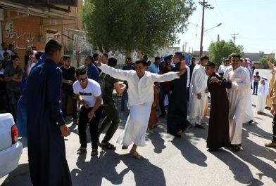 آیین دید و بازدید عید سعید فطر در اهواز