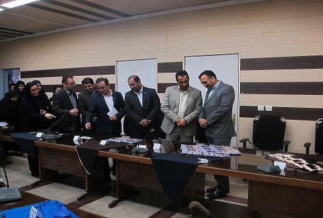 برپایی نمایشگاه عفاف و حجاب در اداره کل فرودگاههای استان