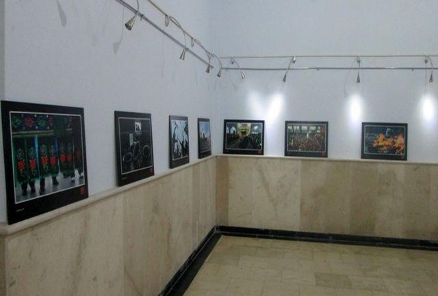 برپایی نمایشگاه عکس و پوستر عاشورایی در نگارخانه اداره ارشاد پلدختر