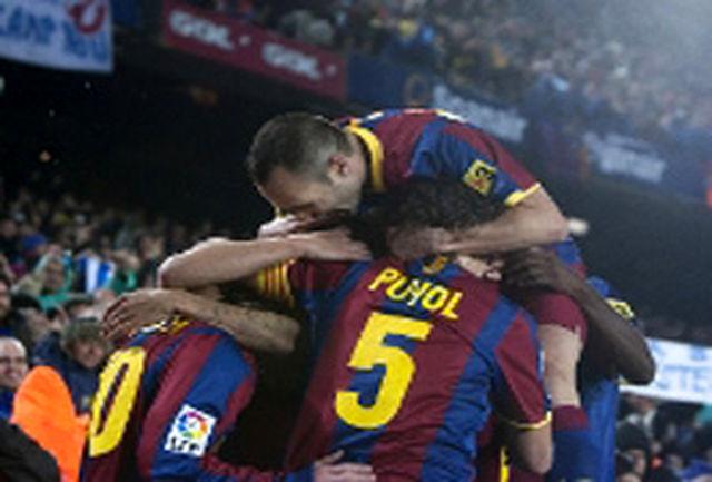 رکوردشکنی بارسلونا ادامه دارد