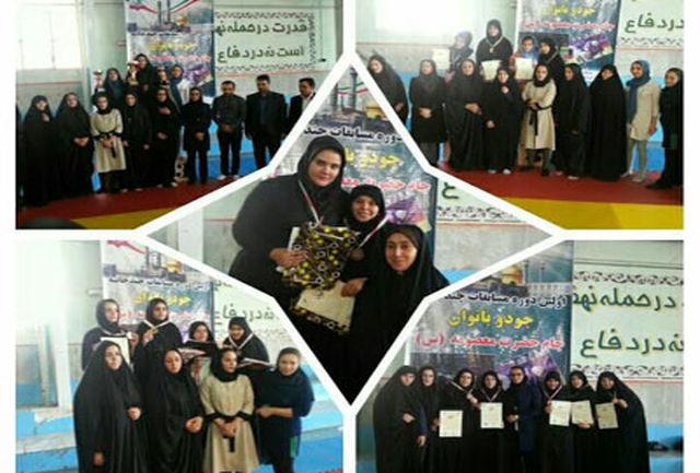 حضور بانوان البرز در مسابقات چندجانبه جودو