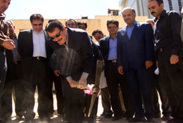 بخش سوختگی بیمارستان امام خمینی(ره) ایلام، کلنگ زنی شد