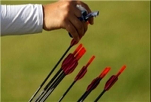 عقیدتی سیاسی نزاجای اردبیل قهرمان تیراندازی ریکرو مسابقات کشوری