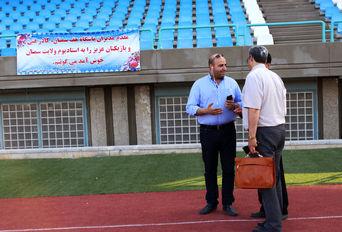 اولین تمرین تیم فوتبال هف سمنان