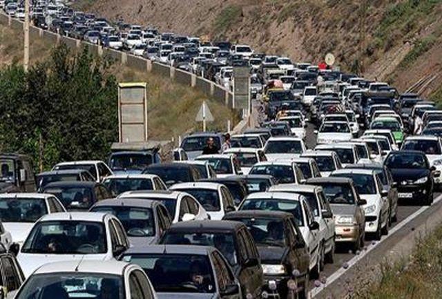 ترافیک نیمهسنگین در مسیرهای برگشت زائران اربعین