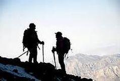 صعود کوهنوردان چنارانی به قله چلیشاه