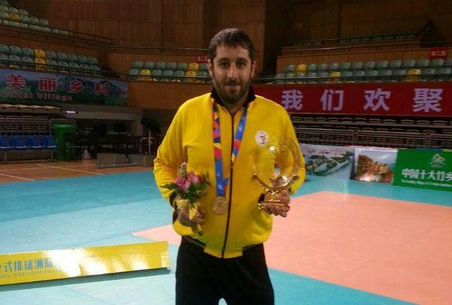 قهرمان پارالمپیک رئیس هیات معلولین قائمشهر شد