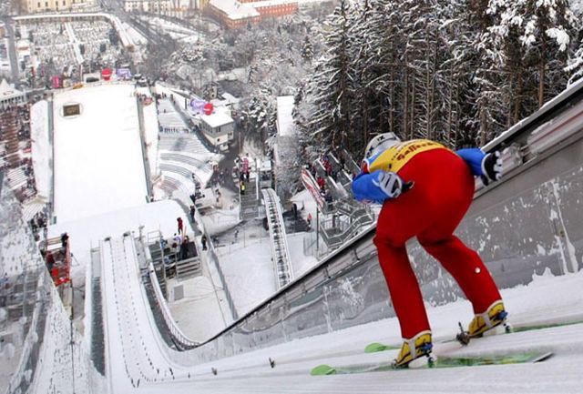اسکی بدون برف!