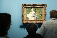 اثر هنری نقاش معروف به سرقت رفت