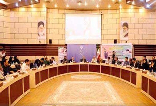 دیدار استاندار  البرز با رسانه ها به مناسبت روز خبرنگار