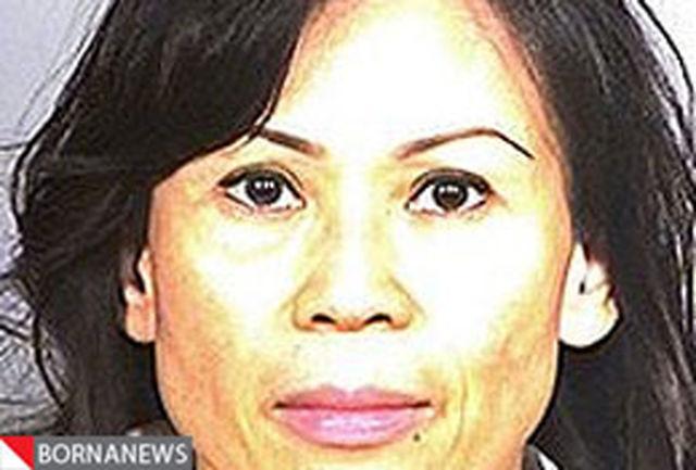 جنایت  زن آمریکایی در مورد همسرش