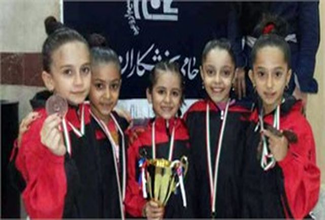 دختران ژیمناست آذربایجان غربی خوش درخشیدند