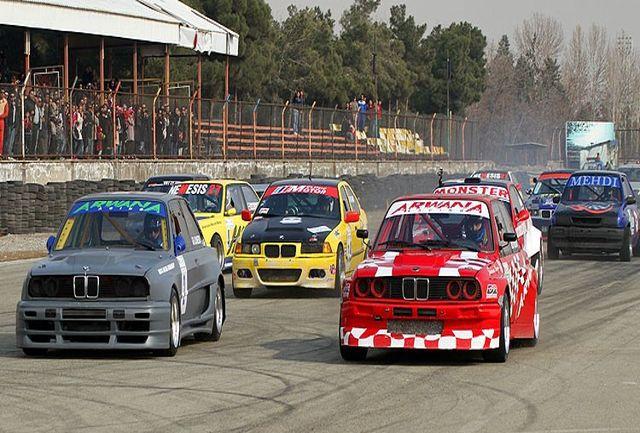 نخستین مرحله مسابقات سرعت اتومبیل برگزار میشود