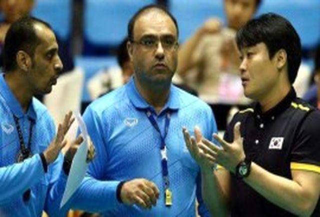 قضاوت داور ایرانی در 3 دیدار والیبال جوانان آسیا