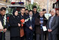 ادای احترام اهالی فرهنگ، هنر و رسانه شیراز به آتشنشانان