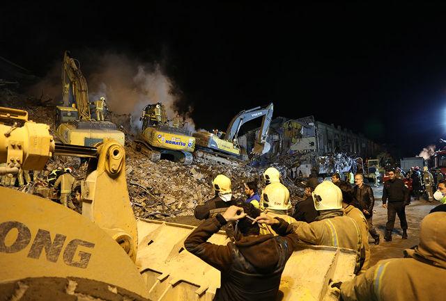 سفیر فلسطین با آتش نشانان ابراز همدردی کرد