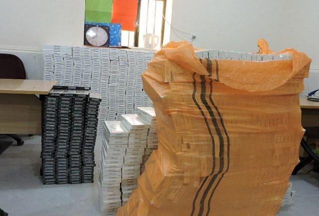 دپوی 680 هزار نخ سیگار قاچاق در بندرلنگه