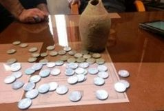 کشف70 سکه نقره ناصرالدین شاهی