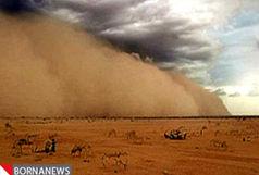 حرکت توده عظیم خاک عراقی به سوی خوزستان