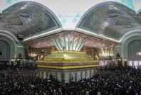 مراسم خاکسپاری آیت الله هاشمی رفسنجانی در حرم مطهر امام خمینی(ره)-2