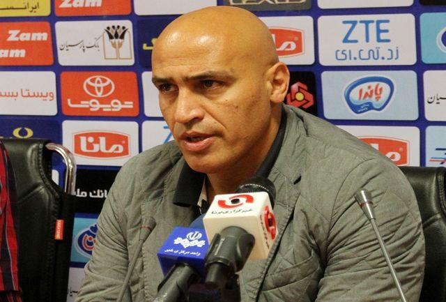 منصوریان: در طول بازی دو سه بار بیش تر بیرانوند را ندیدم