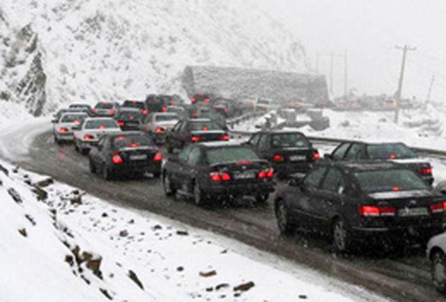 تردد در محورهای شهرستان قوچان به کندی صورت میگیرد