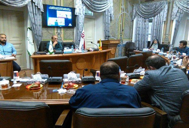 ارایه گزارشی از فعالیت ها و برنامه های سازمان فرهنگی ورزشی شهرداری رشت