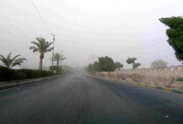 گزارش وضعیت جوی شهرستان بندرعباس در دومین روز ورود ریزگردها به استان