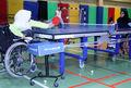 رقابت های مرحله رفت لیگ باشگاهی تنیس روی میز بانوان جانباز و معلول