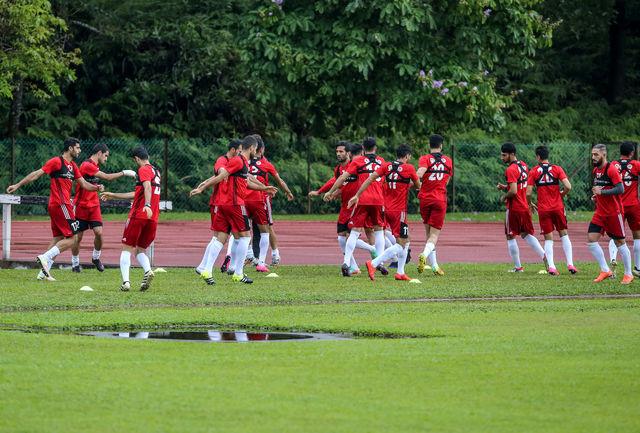 سلفی نوروزی قرمزهای تیم ملی در کنار لژیونرها +عکس